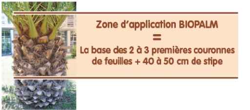 zone d'application de biopalm